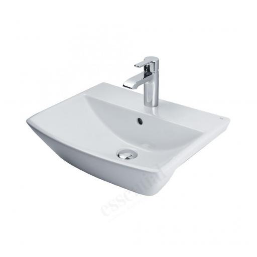 Jasmine 500mm Semi Recessed 1TH Basin