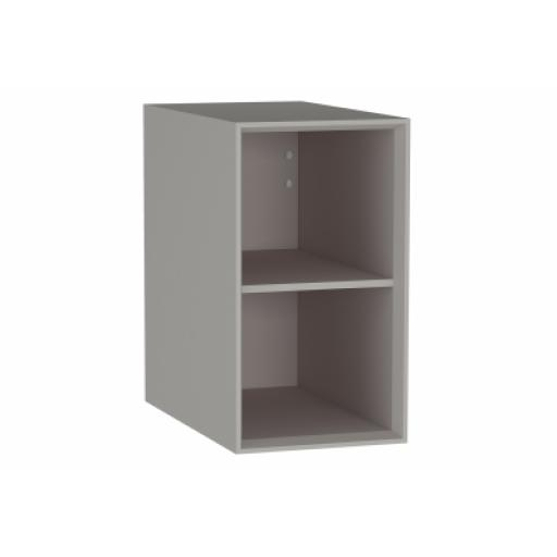 Vitra Frame Open Unit, with shelf, 30 cm, Matte Taupe