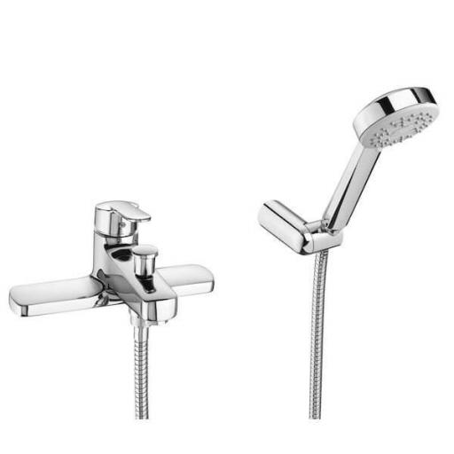 Roca Victoria Deck-Mounted Bath Shower Mixer