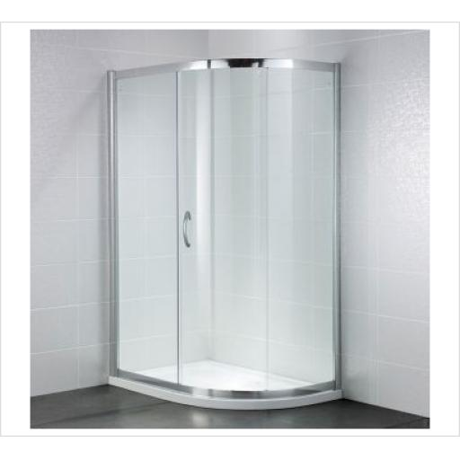 Identiti2 800mm Single Door Quadrant