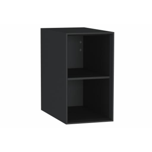 Vitra Frame Open Unit, with shelf, 30 cm, Matte Black