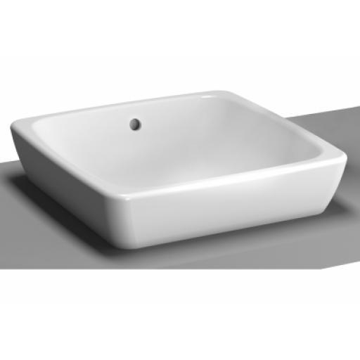 Vitra M-Line Countertop Washbasin, No Overflow Hole, 40 cm