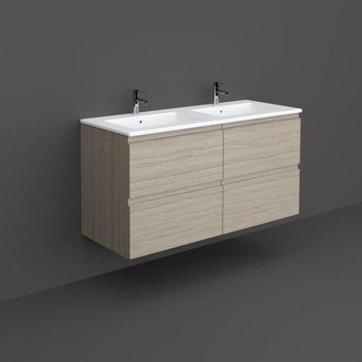RAK Joy Wall Hung Vanity Unit 120CM Grey Elm