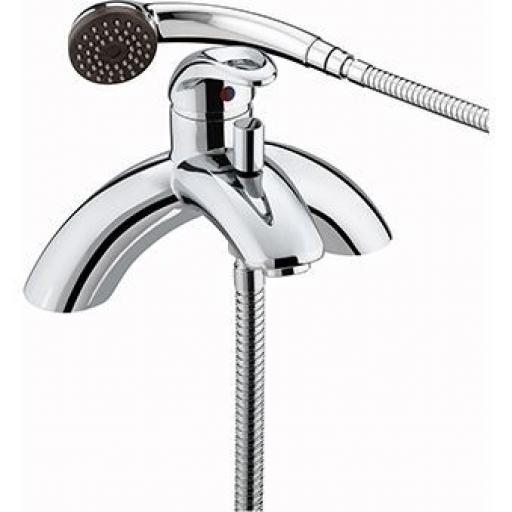 Bristan Java Single Lever Pillar Bath Shower Mixer