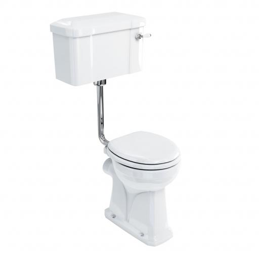 Burlington Regal low level WC with 520 lever cistern