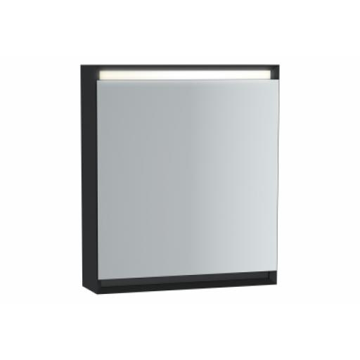 Vitra Frame Mirror Cabinet 60 cm, Matte Black, Right