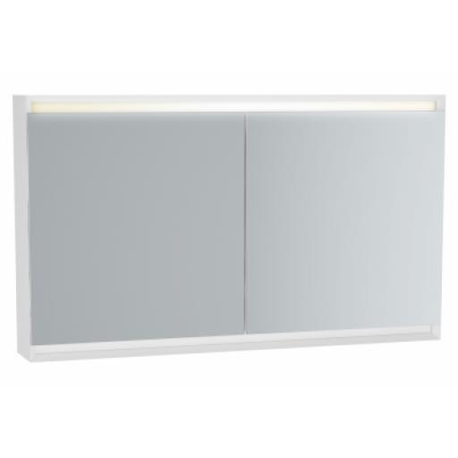 Vitra Frame Mirror Cabinet 120 cm, Matte White