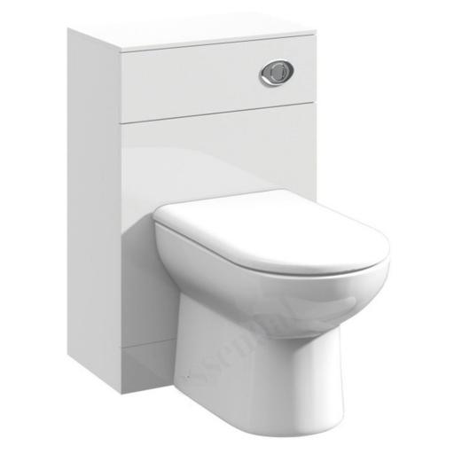 Alaska 500mm Gloss White WC Unit