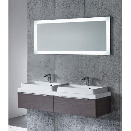 Tavistock Drift LED Back-Lit Mirror