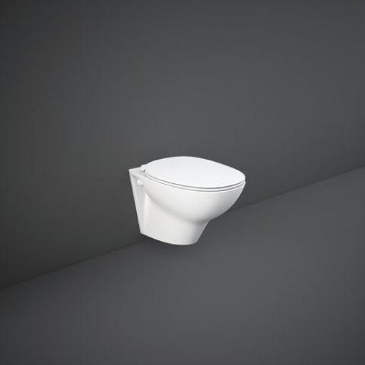 RAK Morning Wall Hung Rimless WC Pan