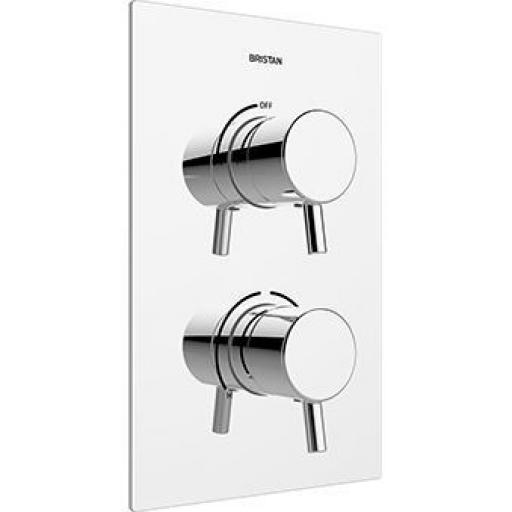 Bristan Prism Thermostatic Recessed Dual Control Shower Valve