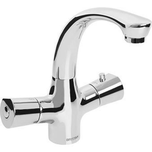 Bristan Thermostatic Basin Mixer (Without Waste)