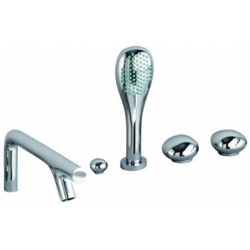 Vitra Istanbul Pebble 5 Hole Bath/Shower Mixer