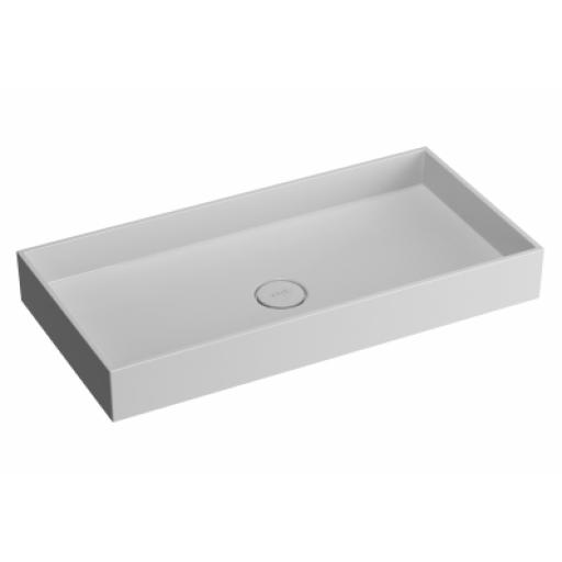 Vitra Memoria Rectangular Countertop Basin 80 cm