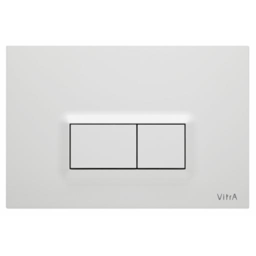 Vitra Loop R Mechanical Control Panel, High Gloss White