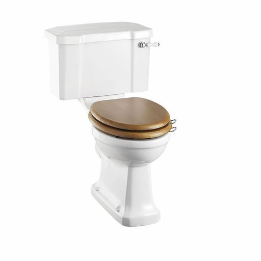 Burlington Regal CC WC with 520 front push button cistern