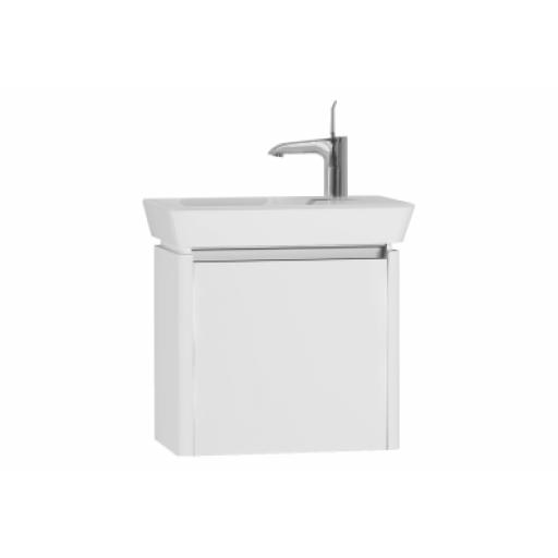Vitra T4 Cloakroom Unit, 50 cm, High Gloss White