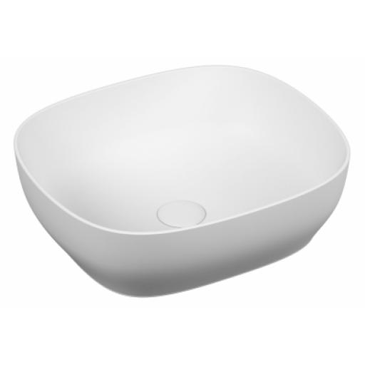 Vitra Outline Square Bowl Washbasin, Matte White