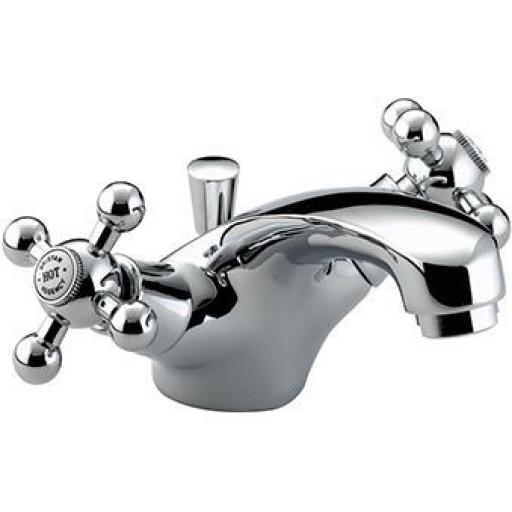 Bristan Regency Basin Mixer With Pop Up Waste- Chrome