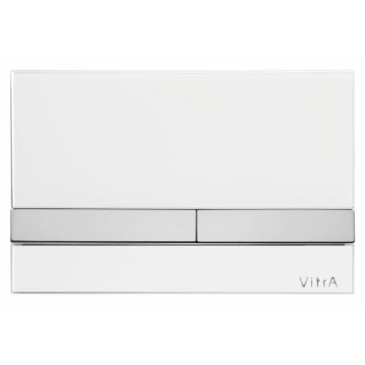 Vitra Select Mechanical Control Panel, Glass White