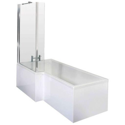 Kensington 1600x700/850mm NTH Shower Bath Pack
