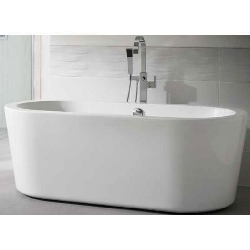 Pebble 1700x800mm Freestanding Bath