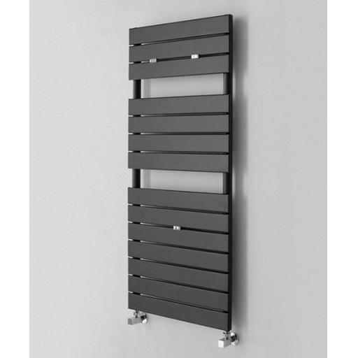 Libra 1210x500mm Anthracite Towel Radiator