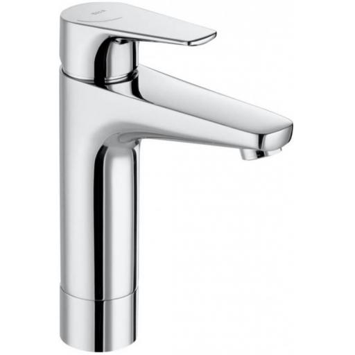 Roca Atlas Medium Height Smooth Body Basin Mixer