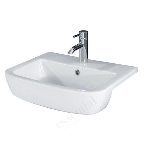 Orchid 520mm Semi Recessed Basin