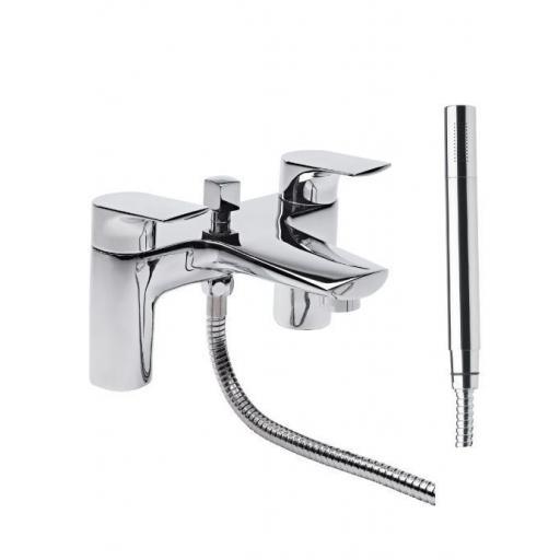 Tavistock Strike Bath Shower Mixer & Handset