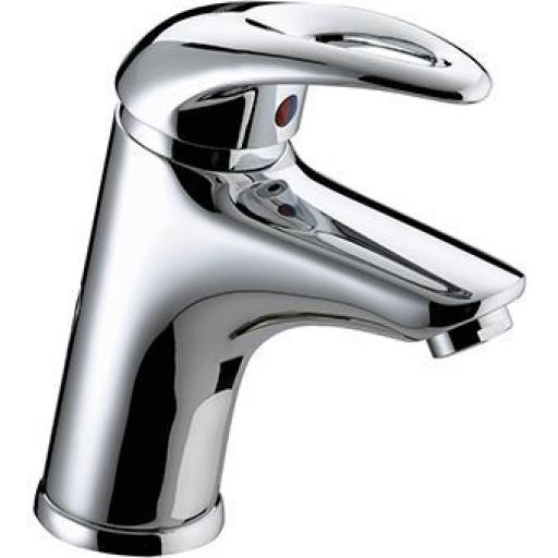 Bristan Java Basin Mixer With Clicker Waste