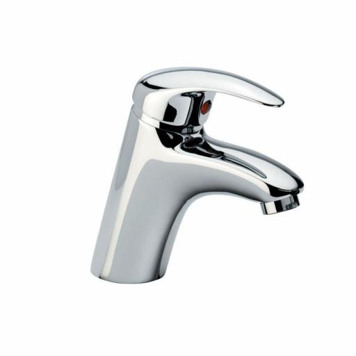 Tavistock Cruz Basin Mixer without Pop Up Waste