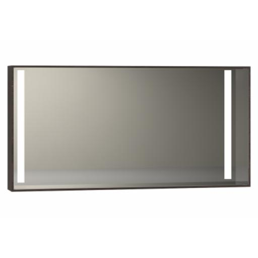 Vitra Memoria Illuminated Mirror, 120 cm, Chestnut