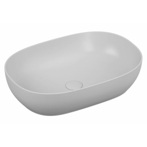 Vitra Outline Oval Bowl Washbasin, White