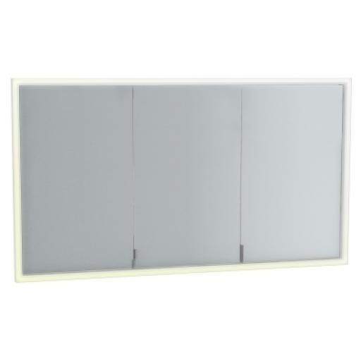 Vitra Deluxe Mirror Cabinet Build into wall, 125cm