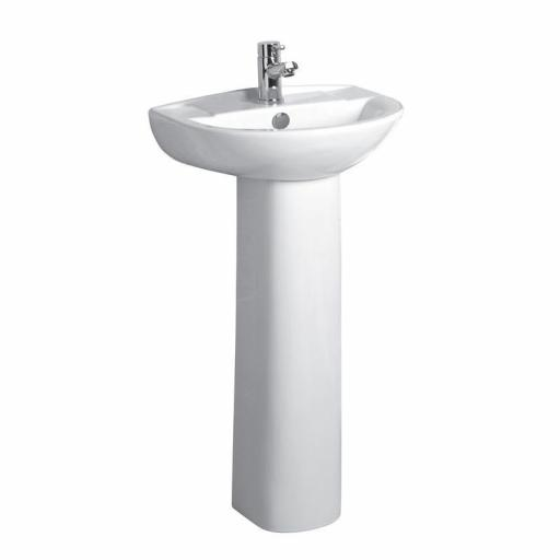 Tavistock Micra 450mm Ceramic Basin