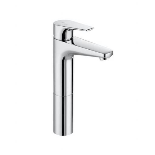Roca Atlas Extended Height Smooth Body Basin Mixer