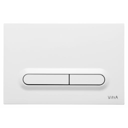 Vitra Loop T Mechanical Control Panel, High Gloss White