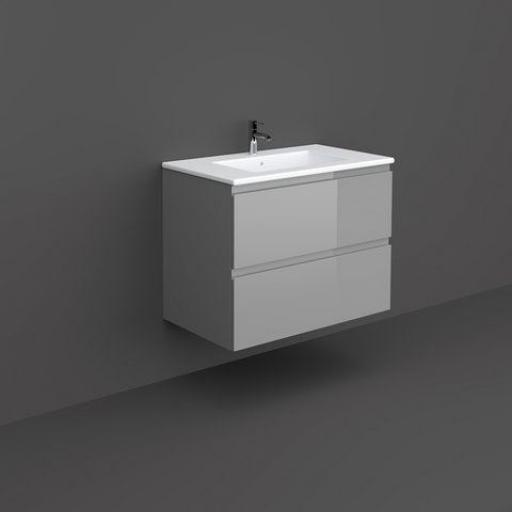RAK Joy Wall hung Vanity Unit 80cm Urban Grey