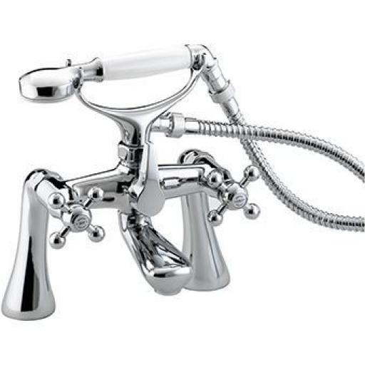 Bristan Regency Bath Shower Mixer (Tall Pillers)