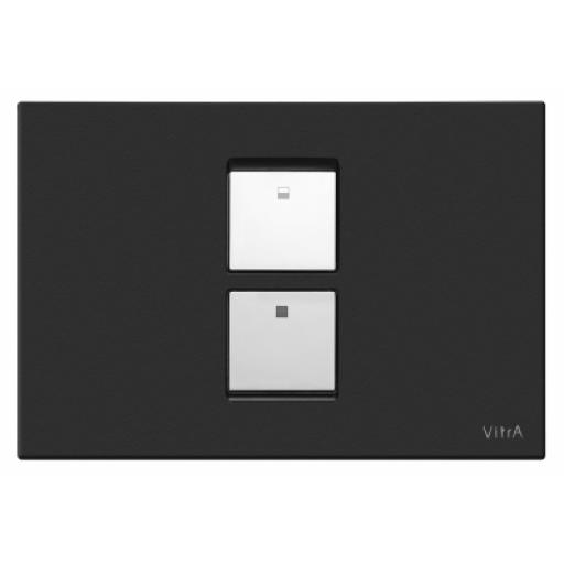 Vitra Twin² Pneumatic Control Panel, Matt Black