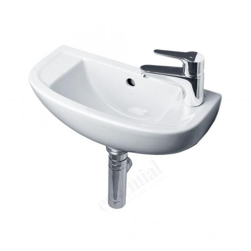 Lily 450mm Slim Depth Basin RH