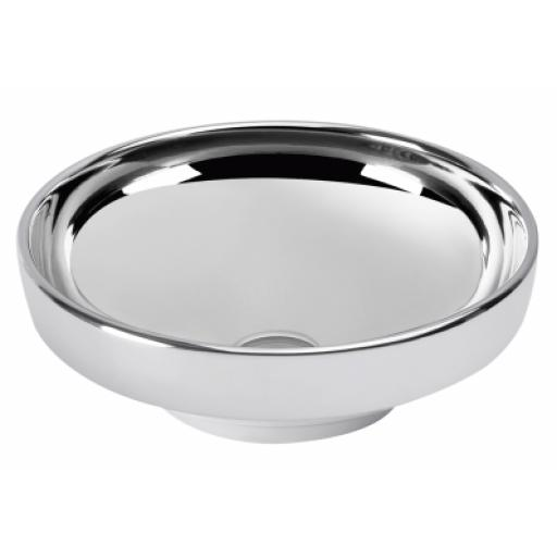 Vitra Water Jewels Circular Bowl, 40 cm, Platinum