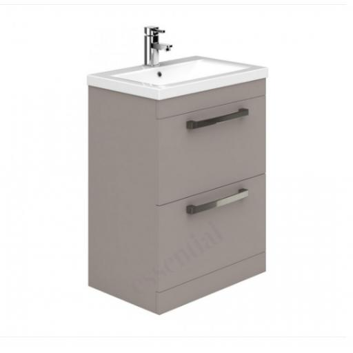 Nevada 800mm 2 Drawer Basin Unit