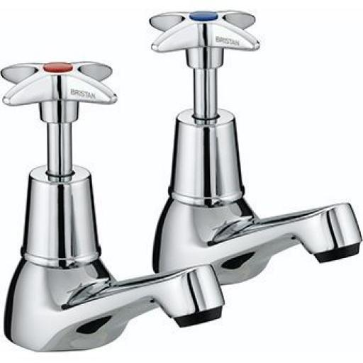 Bristan X-Head Basin Taps
