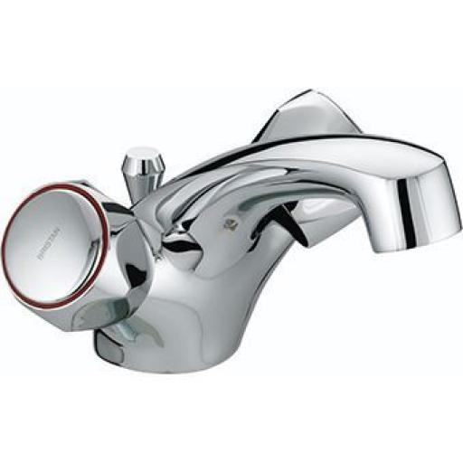 Bristan Club Dual Flow Basin Mixer With Pop Up Waste