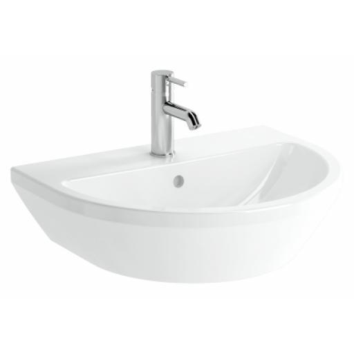 Vitra Integra Standard Washbasin, 60cm, Round