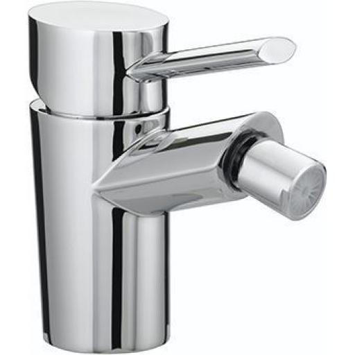 Bristan Oval Bidet Mixer With Pop Up Waste