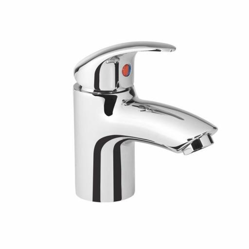 Tavistock Cruz Mini Basin Mixer without Pop Up Waste