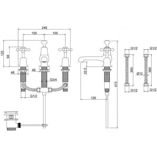 https://www.homeritebathrooms.co.uk/content/images/thumbs/0010022_burlington-claremont-3-tap-hole-mixer-with-pop-up-wast